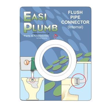 RUBBER FLUSH PIPE CONNECTOR