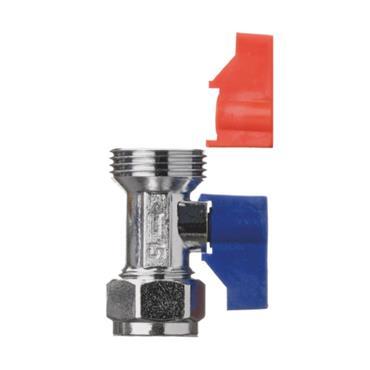 Easi Plumb Straight Pattern Washing Machine / Dishwasher Valve | EPSPWMV1