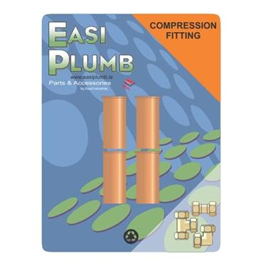 1/2'' COPPER INSERTS PACK OF 4