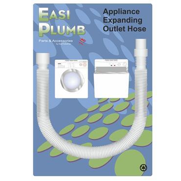 Easi Plumb 80cm - 280cm Spare Outlet Hose for Washing Machine / Dishwasher | EPOHF