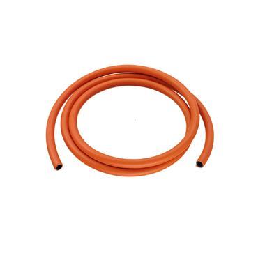 Easi Plumb 1.2Mtr Length Orange Rubber Gas Hose (BS3212) | EP2MGH