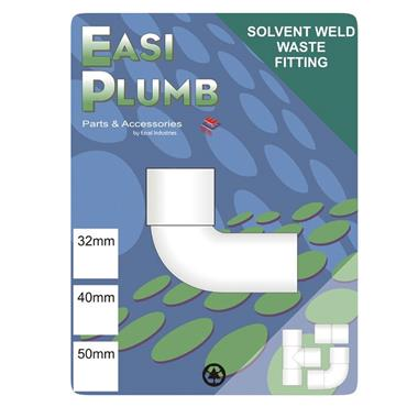 Easi Plumb 32mm M x F Waste Fitting Knuckle Elbow | EP32KWMF