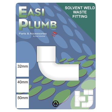 Easi Plumb 32mm M x F Waste Fitting Knuckle Elbow   EP32KWMF
