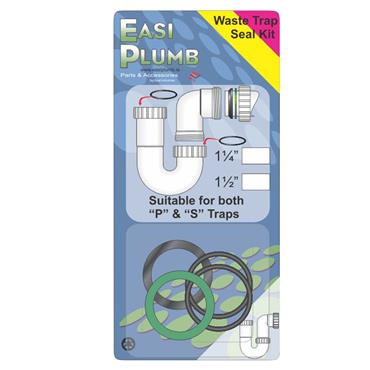 "1 1/4"" WASTE TRAP SEAL KIT"