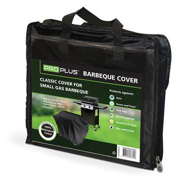 Proplus Small BBQ Cover 80cm H x 50cm W x 150cm L - Black | PPS767316