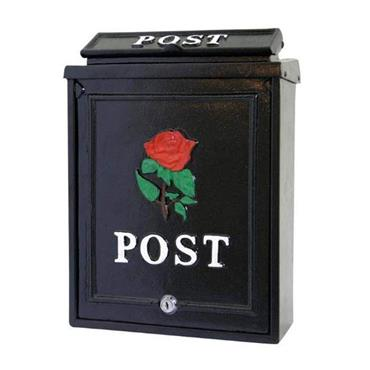 De Vielle Die Cast Rose Letter Box | GUI024593