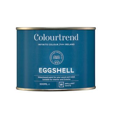 Colourtrend 500ml Eggshell - White | M01656