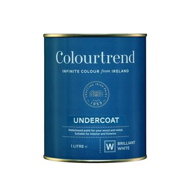 Colourtrend 1 Litre Undercoat - White | M01019
