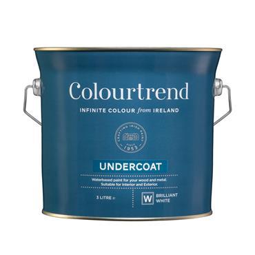 Colourtrend 3 Litre Undercoat - White | M01020