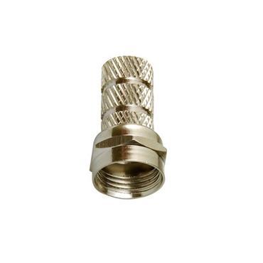 Powermaster Screw in Satellite Plugs F Connectors 2 Pack | 1521-14