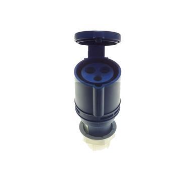 Powermaster 220V 16 Amp 2 Pin + Earth Blue Coupler   1523-34