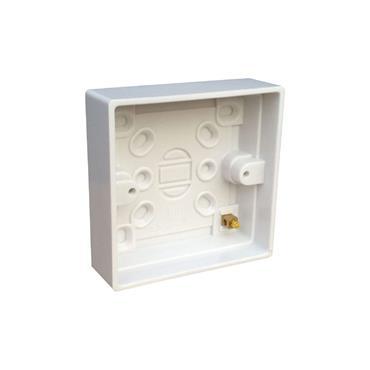 Powermaster 1 Gang 16mm Surface Patress Socket Box   1435-12