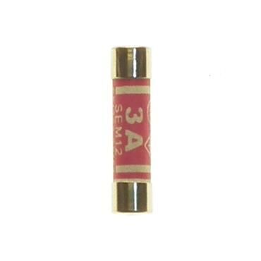 Powermaster 3 Amps Fuses 4 Pack   1521-00