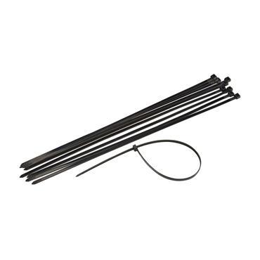 Powermaster 200mm x 4.8mm Cable Ties - Black | 1411-14