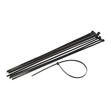 Powermaster 370mm x 4.8mm Cable Ties - Black | 1411-18