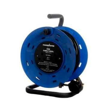 POWERMASTER 25 MTR 220V CABLE REEL | 1318-38