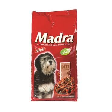 MADRA 15KG BEEF & VEG DOG FOOD
