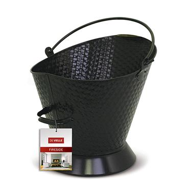 De Vielle Waterloo Bucket Weave Effect - Black |  DEF974137
