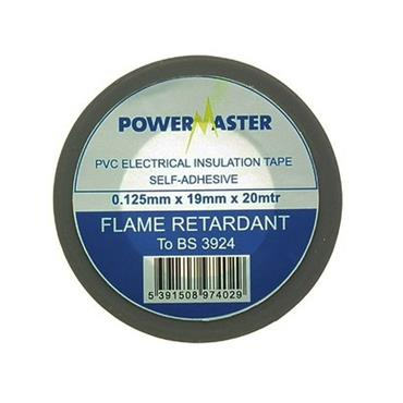 Powermaster 19mm Insulating Tape 20 Metre - Grey | 1799-28
