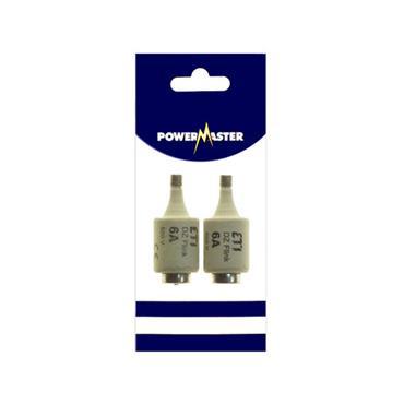 Powermaster 6 Amp DZ Fuses 2 Pack   1799-36