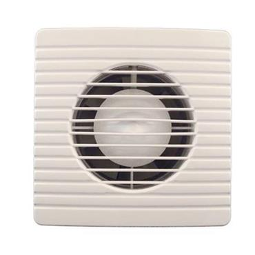 "Powermaster 4"" Bathroom Extractor Fan with Timer 