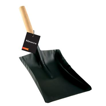 "Sirocco 7"" Wooden Handle Coal Fire Shovel 