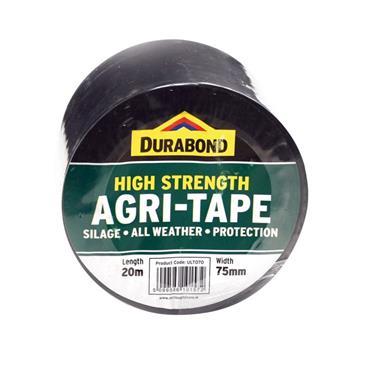 HEAVY DUTY BLACK AGRI TAPE 75MMX33M