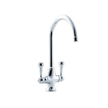 Sanbra Fyffe Dual Flow Cruciform Sink Mixer Tap | 580324