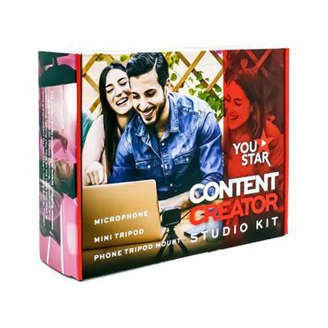 You Star Content Creator Starter Pack Vlogging Kit | YS2221