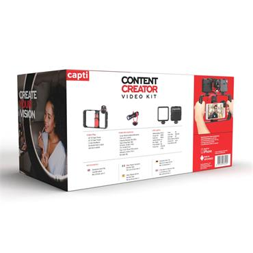 You Star Content Creator Video Kit - Black | YS2245