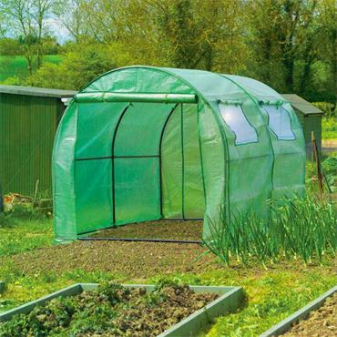 PROPLUS POLYTUNNEL GREENHOUSE with Steel Frame | PPS965177