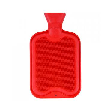 De Vielle Rubber Ribbed Hot Water Bottle | DEV962374