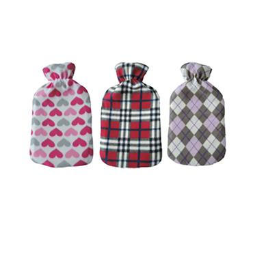 De Vielle Classic Fleece Hot Water Bottle | DEV962381