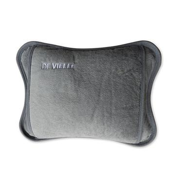 De Vielle Rechargeable Electric Hot Water Bottle - Grey | DEV964354