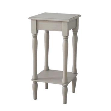 Home Inspirations Antique Cream Square Table | FUR966181