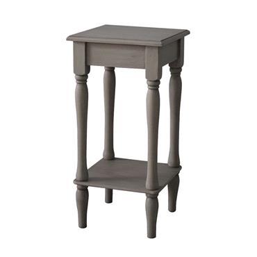 Home Inspirations Savannah Grey Square Table | FUR966266