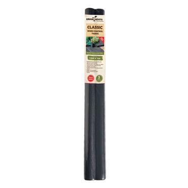 Grass Roots Classic Weed Control Fabric Weedblock Twin Pack ( 2 x 12mx1m Rolls) | GRT969045