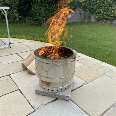 MIDOS RANGE PHOENIX FIRE PIT (WOOD LOGS ONLY) | P-FIREPIT1