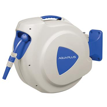 Aquaplus Wall Mounted Automatic Retractable Hose Reel 20m Hose Included | AQP012174