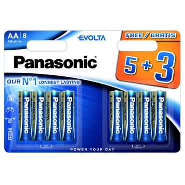 PANASONIC AA BATTERIES 8 PACK