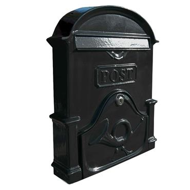 THE BROSNA A4 GRAPHITE BLACK LETTERBOX