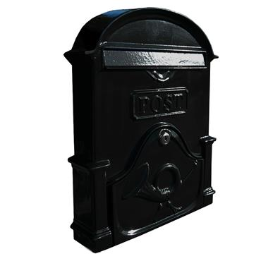 THE BROSNA A4 GLOSS BLACK LETTERBOX