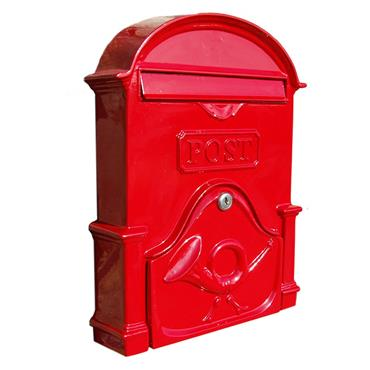 THE BROSNA A4 RUBY RED LETTERBOX