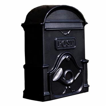 THE MOY A4 DEEP GLOSS BLACK LETTERBOX