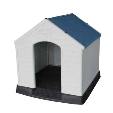 MYSTYLE LARGE PLASTIC DOG KENNEL HOUSE