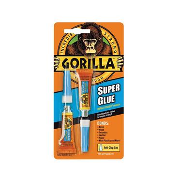 GORILLA SUPER GLUE TWIN PACK (2 X 3G)