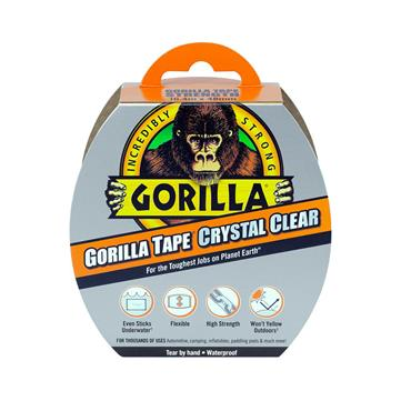 Gorilla Tape Crystal Clear 48mm x 16.4 metre