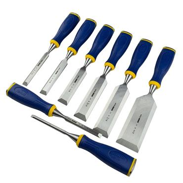 Irwin Marples MS500 ProTouch All-Purpose Chisel Set 8 Piece | MAR10507958