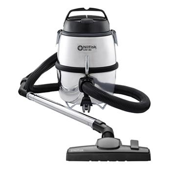 Nilfisk GM80 Bagged Vacuum Cleaner - Silver | GM80CUK