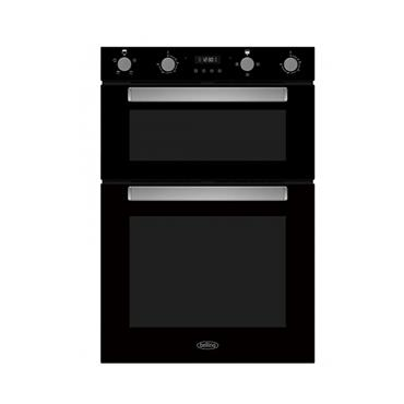 BELLING BUILT IN DOUBLE OVEN BLACK | BI903FPBLK